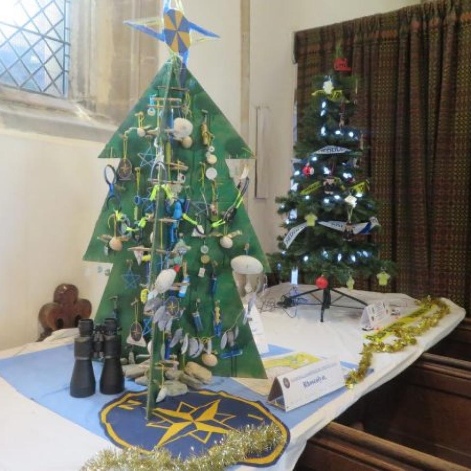 "NCI's ""recycled"" Christmas tree – Caro"