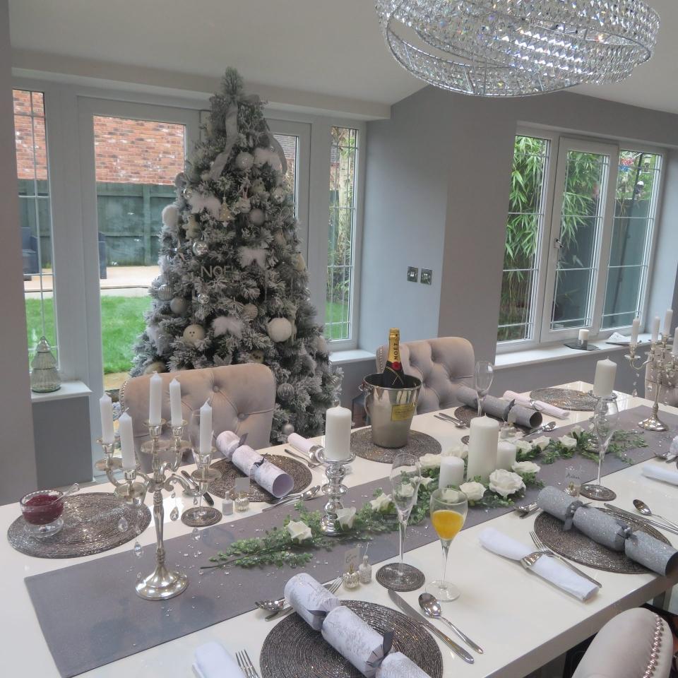 Caro's family festive table